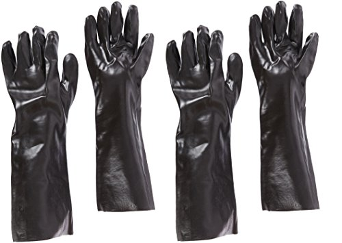 West-Chester-12018-18-Chemical-Resistant-Gloves-Large-Black