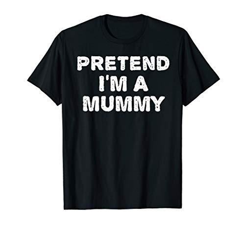 Mummy Costumes Diy (PRETEND I'M A MUMMY Funny Halloween DIY Costume)