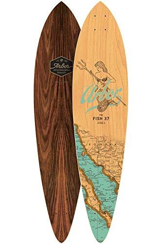 lordofbrands Skate Skateboard Longboard Arbor Deck Groundswell Fish 37