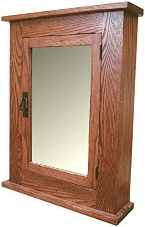 Solid Oak Mission Medicine Cabinet Solid Wood Handmade