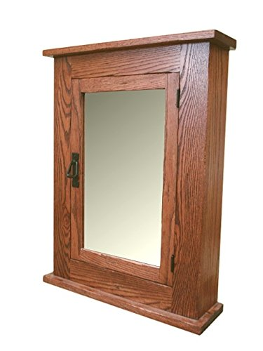 Solid Oak Mission Medicine Cabinet Solid Wood Handmade