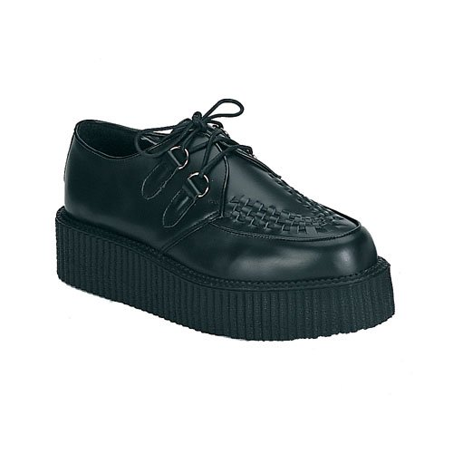 Leather Basic Creeper Shoe - 7