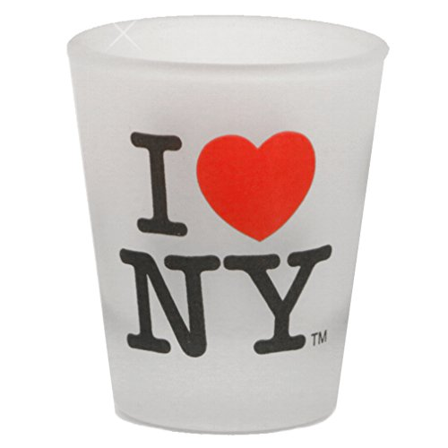 I Love NY Shot Glass, Officially Licensed New York City Shot Glasses from NYC in Gift - Glasses Nyc