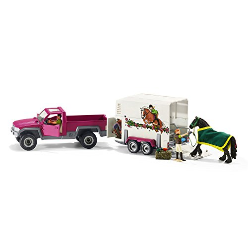 truck and horse trailer toy - 6