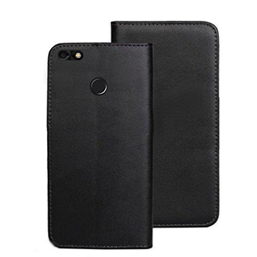 ECHT LEDER Buch Klapp Tasche Schutz Hülle Flip Case Etui für Huawei P9 Lite MINI SLA-L02 rLwN1ypw9
