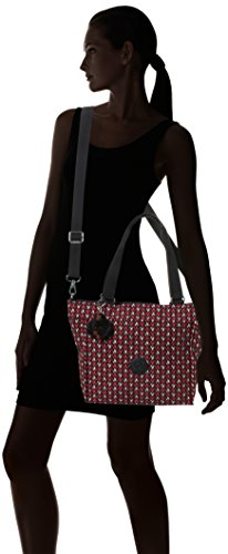 Pink Femme Chevron Multicolore Shopper New Sac Kipling S q1IZfRxY