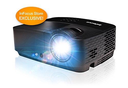 InFocus Corporation IN118HDxc 1080p DLP Projector, HDMI, 3200 Lumens, 15000:1 Contrast Ratio, 3D