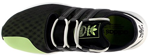 Adidas Originals Mannen Sl Stijging Fashion Sneaker Zwart / Zonne-geel / Wit