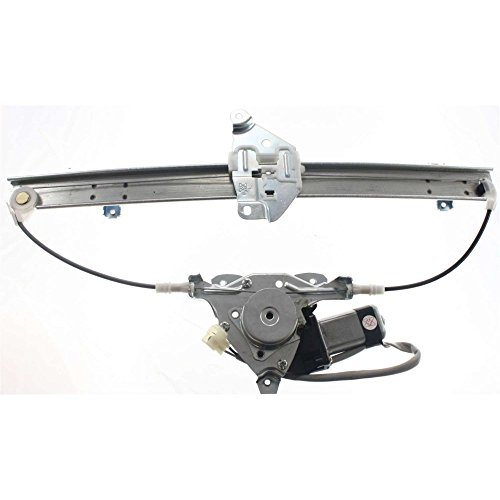 Front Window Regulator for Nissan Pickup 86-97 Left Power W/Motor ()