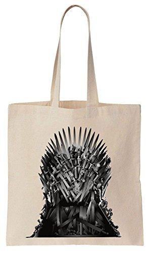 GoT Iron Throne Sacchetto di cotone tela di canapa