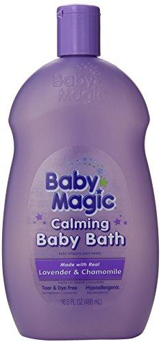 Baby Calming Milk (Baby Magic Calming Baby Bath - Lavender & Chamomile: 16.5 OZ)