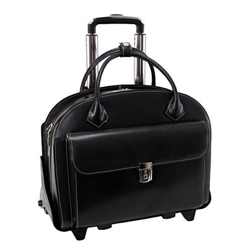 mckleinusa-glen-ellyn-94365-black-leather-detachable-wheeled-womens-case