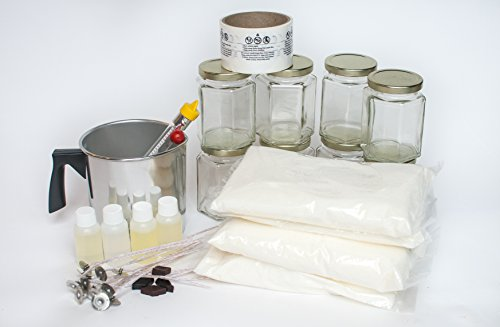 Candle Craft Kit (Palm Wax Candle Making Kit)