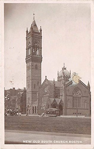 New Old South Church Boston Massachusetts Postcard