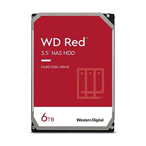 chollos oferta descuentos barato WD Red Disco duro para NAS 6 TB el paquete puede variar