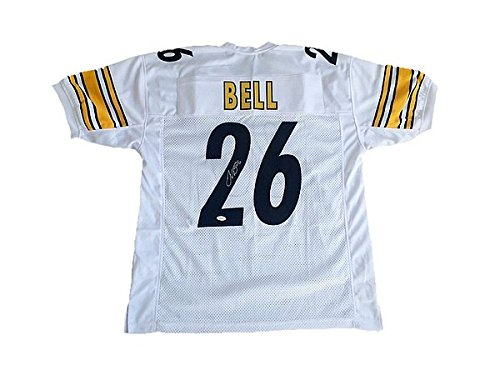 Check out Le'Veon Bell Pittsburgh Steelers Away White Autographed Jersey - JSA Authenticated.