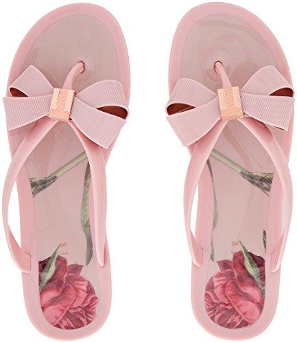 Ted Baker Damen Susziep Zehentrenner Pink (Palace Gardens #ffc0cb)