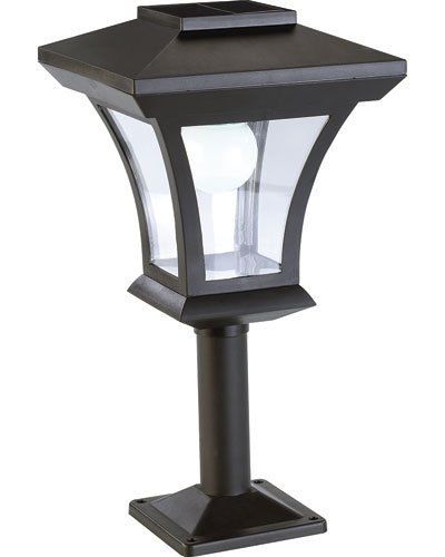 Lampadaire de jardin solaire à LED sur pied [Lunartec]