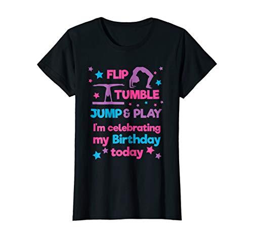 Girl's Gymnastics Birthday Party T