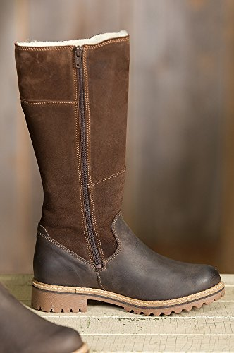Co amp; Women's Brown Dark Coffee Hailey Bos Snow Boot vq5Bdwv