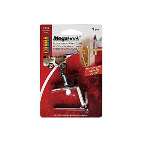 Hillman 122411 Extra Heavy Duty MegaHook Kit 75lbs