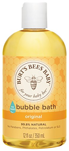 Burt's Bees Baby Bubble Bath, Tear Free Baby Wash - 12 Ounce (Bee Bath)
