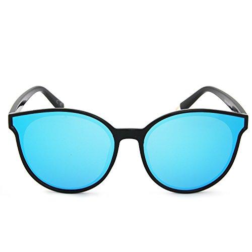 Sole Ghiaccio Da Grande Occhiali Polarizzati Blu Occhi Cornice Amztm Di Gatto qLGzpUMVjS