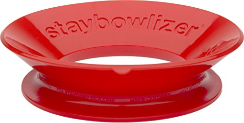Now Designs Staybowlizer, Red ()