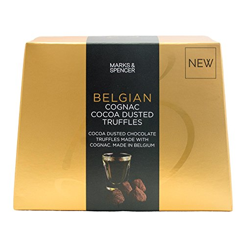 Marks and Spencer Belgian Cognac Truffles | Cocoa Dusted Chocolate Truffles made with Cognac