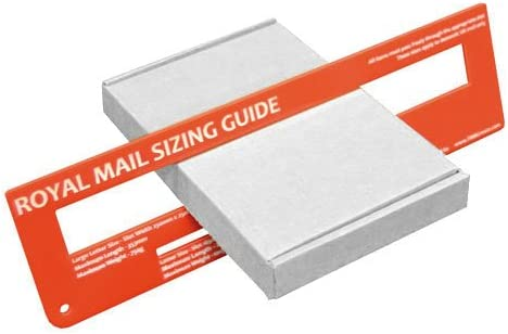 Blanc C6/A6/Grande Lettre PIP Taille solide en carton dexp/édition Bo/îtes postales Qt/é 10