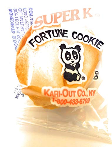 Super K Panda Fortune Cookies by NVM Trading - Pack of 50