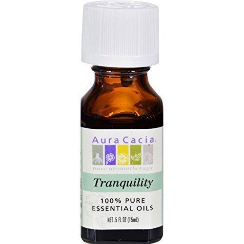 Price comparison product image Aura Cacia 100 Percent Pure Tranquility Essential Oil Blend,  0.5 Ounce - 6 per case.