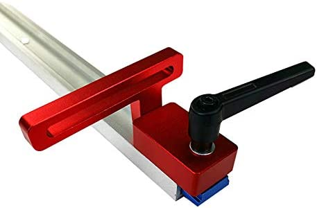 30 Type Riiai Miter Track Stop Accurate Durable Aluminum Alloy Woodworking Tool Miter Chute Limiter T-Track sy Operate Length Limit for Sliding Chute