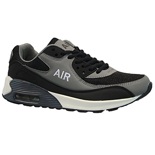 Mens Shock Absorbing Running Trainers Casual LACE Gym Walking Sports Shoes Size UK 6-12