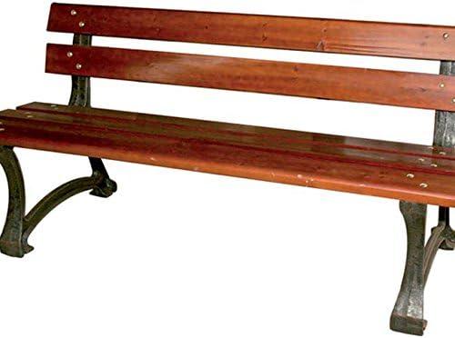 Panchina panca in legno-se non trattata da giardino panca panca in legno panca NUOVO