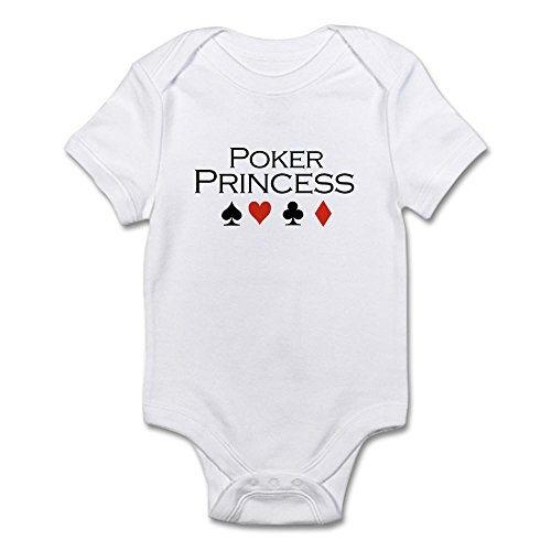 CafePress Poker Princess/Poker Infant Bodysuit - Cute Infant Bodysuit Baby Romper