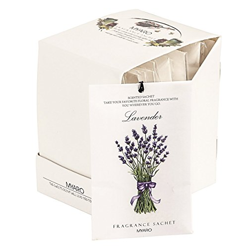 [Best Gift] MYARO 12 Packs Lavender Scented Sachets for Drawer and Closet MR-01