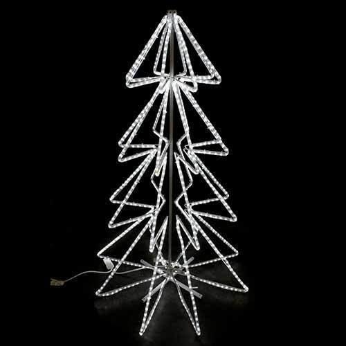 Amazon.com: 2 LED Rope Light Christmas Tree Motifs ((2X) Cool White):  Garden & Outdoor - Amazon.com: 2 LED Rope Light Christmas Tree Motifs ((2X) Cool White