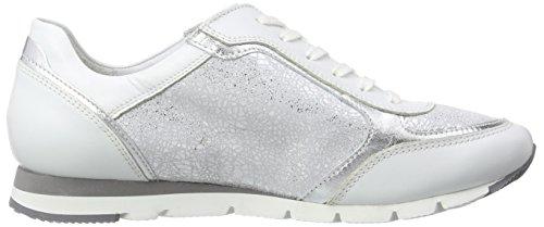 Semler Sneaker Alto Rosa Bianco Weiss silber A Donna Collo 101 rCrFS