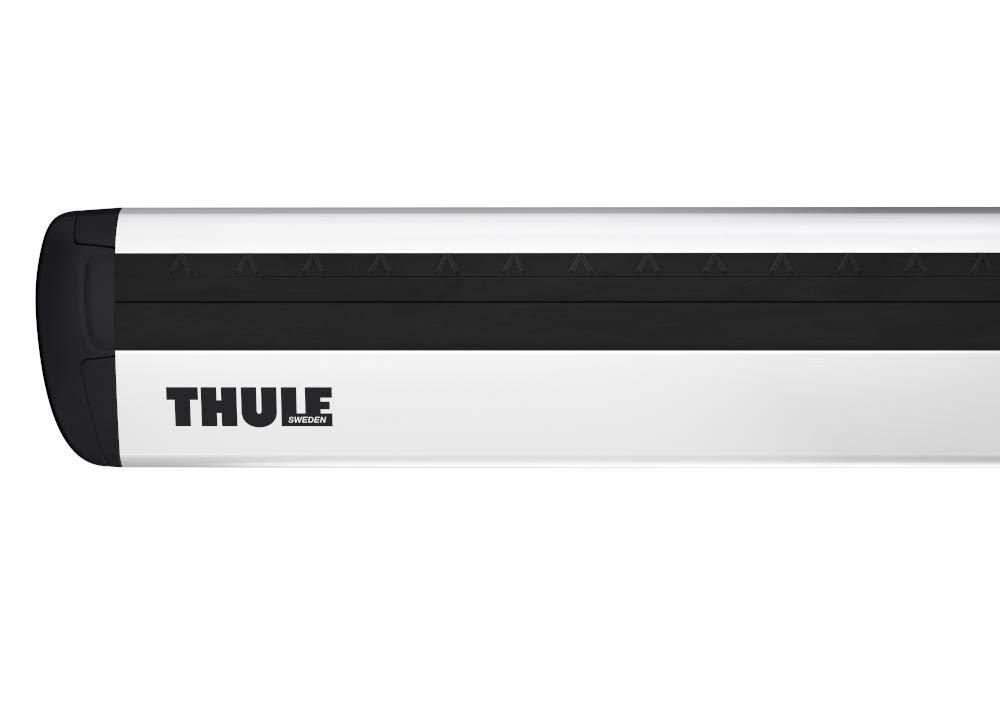 Thule 711300 Barra de Carga Aluminio 127 cm Set de 2