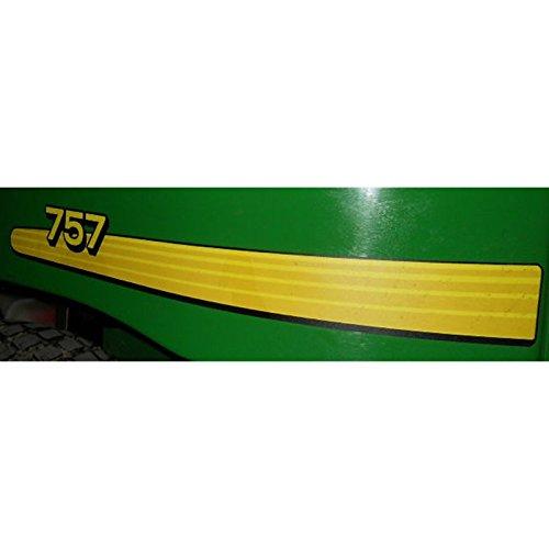 John Deere 757 Ztrack side Decal kit TCU16910 TCU16911