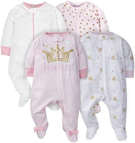 Gerber Baby Girls 2-Pack Sleep N Play