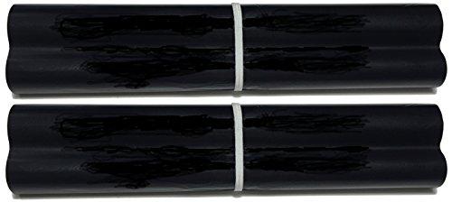 2-pack of UX-3CR Fax Film Ribbon Refill Rolls Compatible with Sharp Fax UX-245L UX-300 UX-300M UX-305 UX-310 UX-320 UX-330L UX-335L UX-340 UX-340L UX-340LM UX-345 UX-345L UX-355 UX-355L UX-370 UX-460 UX-465L UX-470 UX-645L