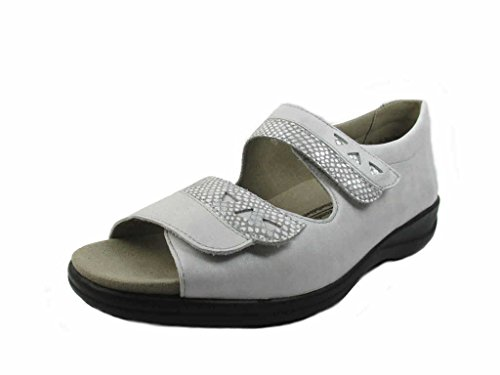 Solidus Women's 7308140165 Fashion Sandals Grey