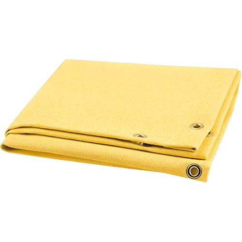 Steiner 364-8X10 Golden Glass Light 24-Ounce Acrylic Coated Fiberglass Welding Blanket, Gold, 8' x - Curtain Gold Welding