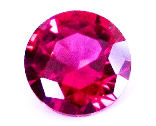 8mm 루비 합성 석 라운드 루스 합성 루비 합성 루비 ruby 1 개 / 8mm Ruby Synthetic Stone Round Loose Synthetic Ruby 1 Synthetic Ruby