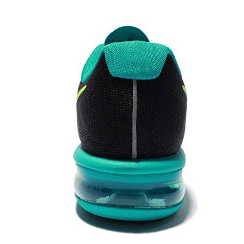 Femmes Nike Chaussures De Course Air Ultérieurs Max (5 B (m) Nous, Jade Noir / Volt-clair)