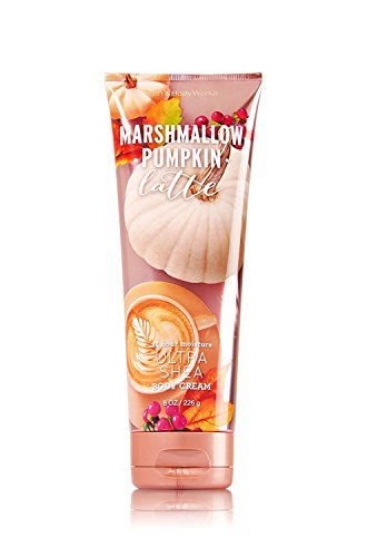Pumpkin Marshmallow - Bath and Body Works Ultra Shea Body Cream Marshmallow Pumpkin Latte. 8 Oz