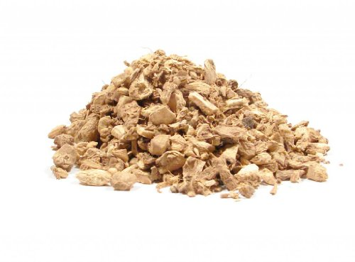Ginger Root Herbs - Chopped Ginger Root-4oz-Cut Ginger Supplement and Herbal Tea