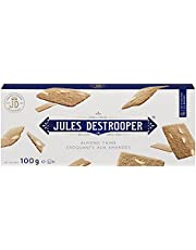 Jules Destrooper Almond Thins, Belgium Biscuits, Sweet & Savoury Cookies,100g